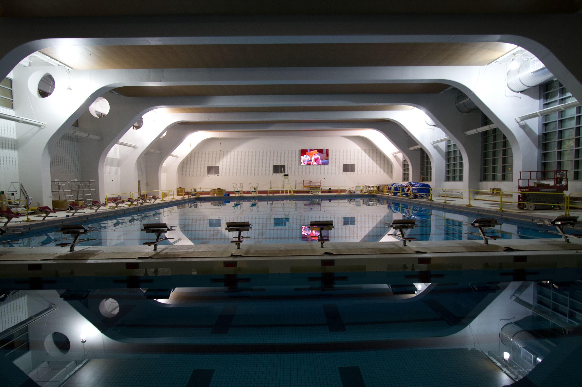 WPI Rec Center Pool Still